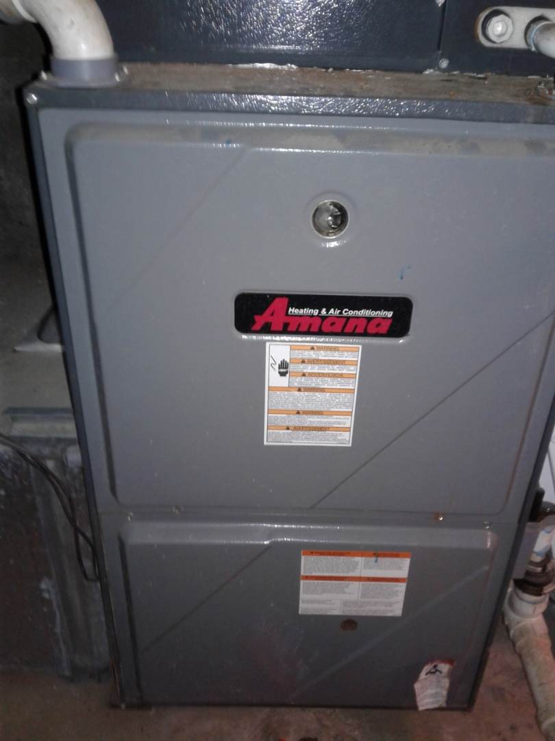 Oakland, TN - Service and repair on an Amana furnace.