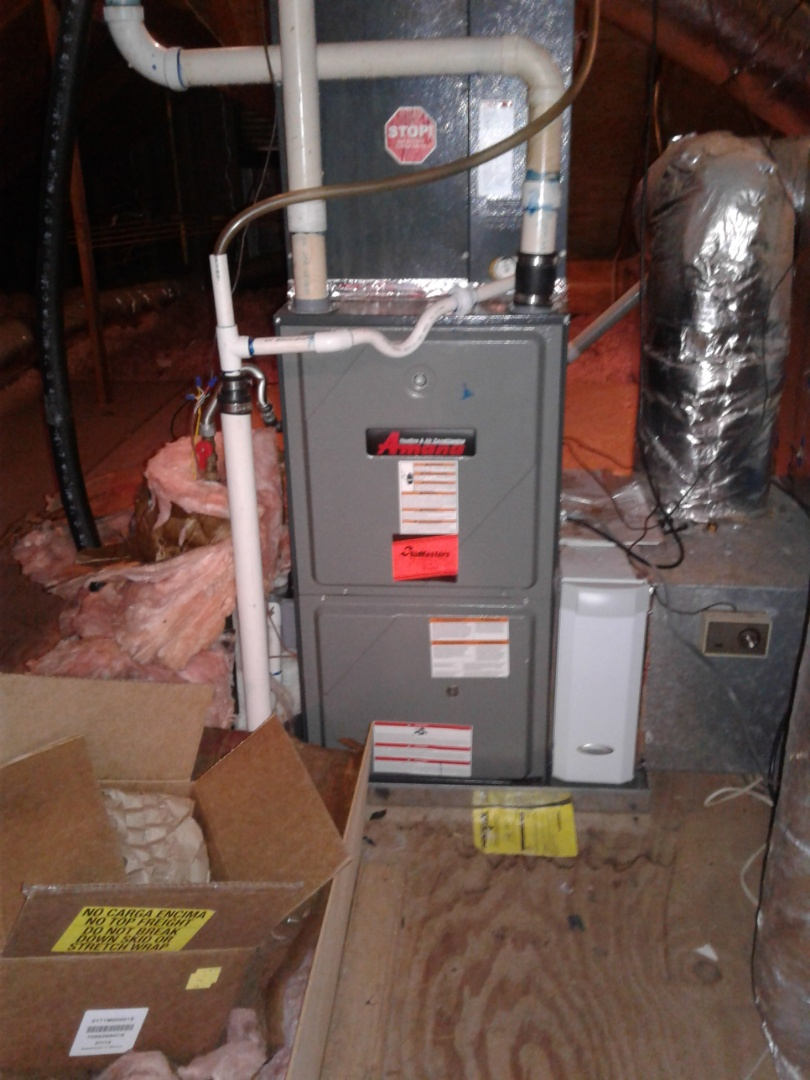 Olive Branch, MS - Service and repair on an Amana furnace.