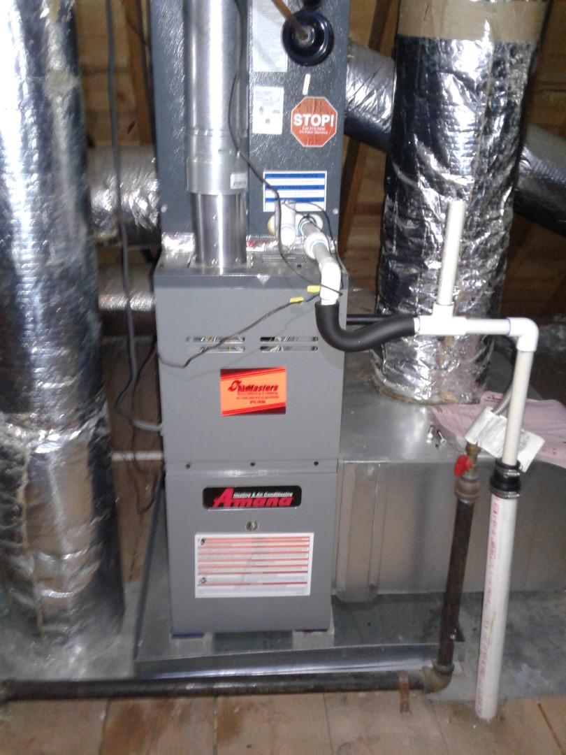 Memphis, TN - Heat tune up and safety inspection on an Amana furnace.