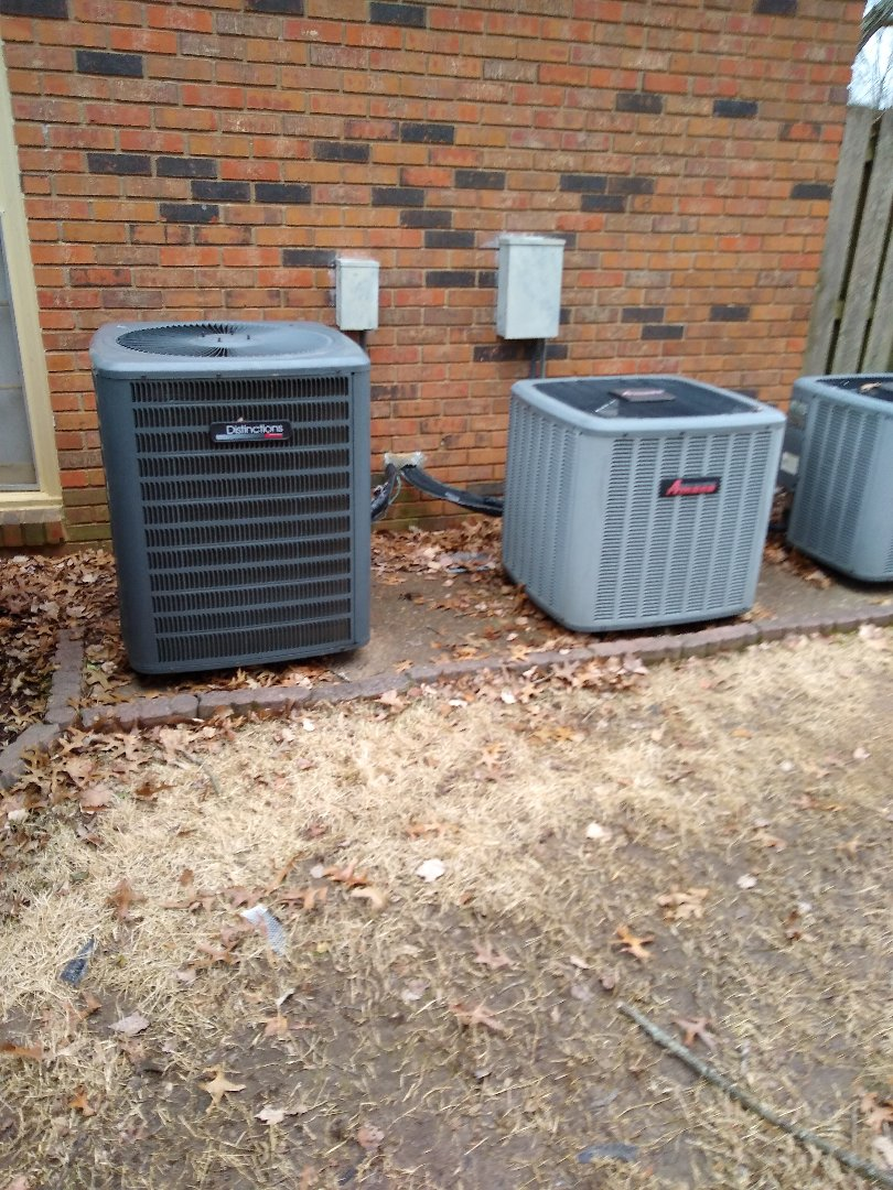 Germantown, TN - Service call on Amana air conditioners