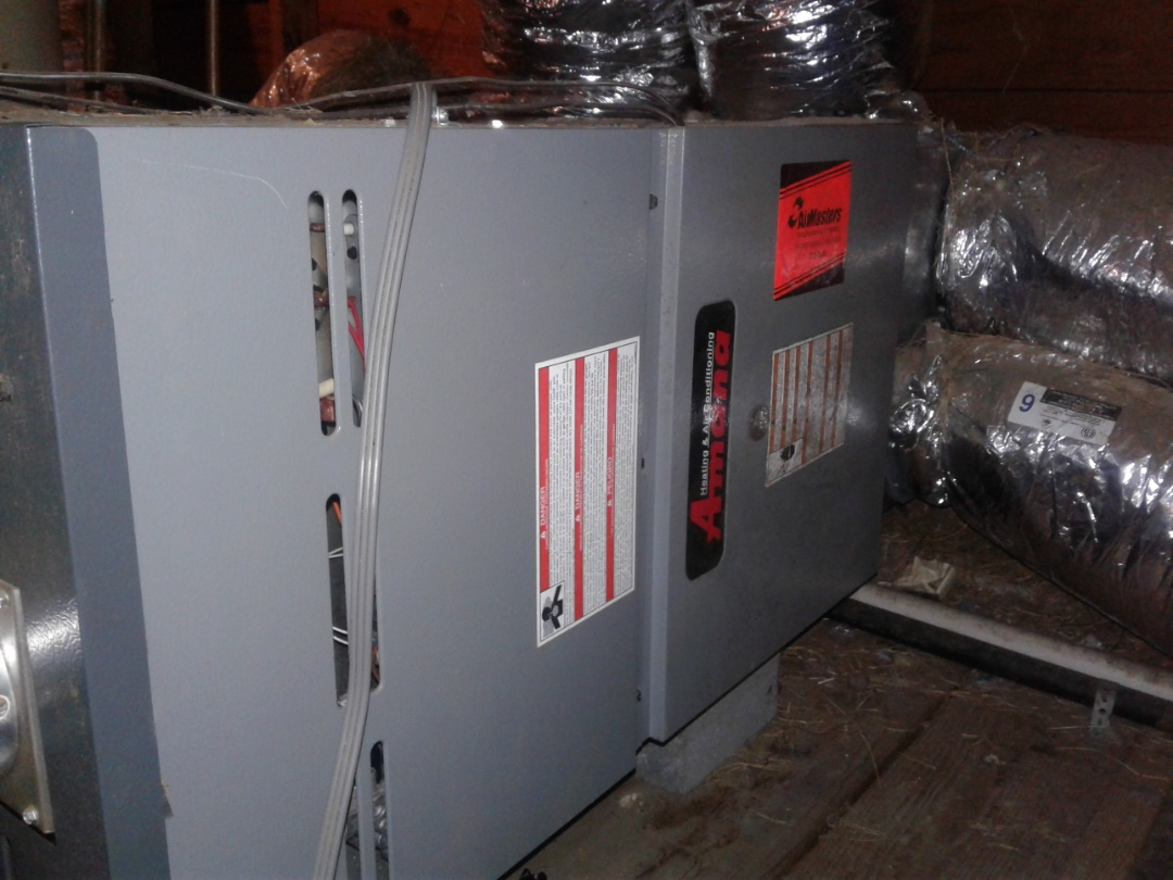 Arlington, TN - Service and repair on an Amana furnace.