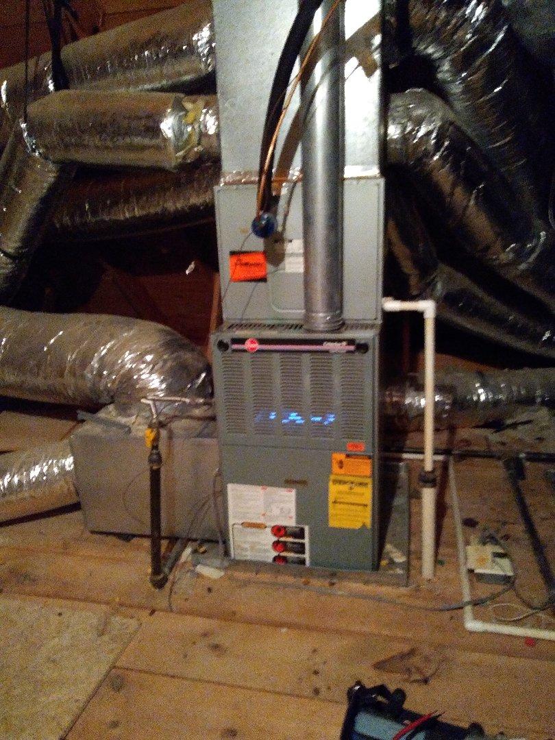 Arlington, TN - Tune up on Rheem and Amana furnaces