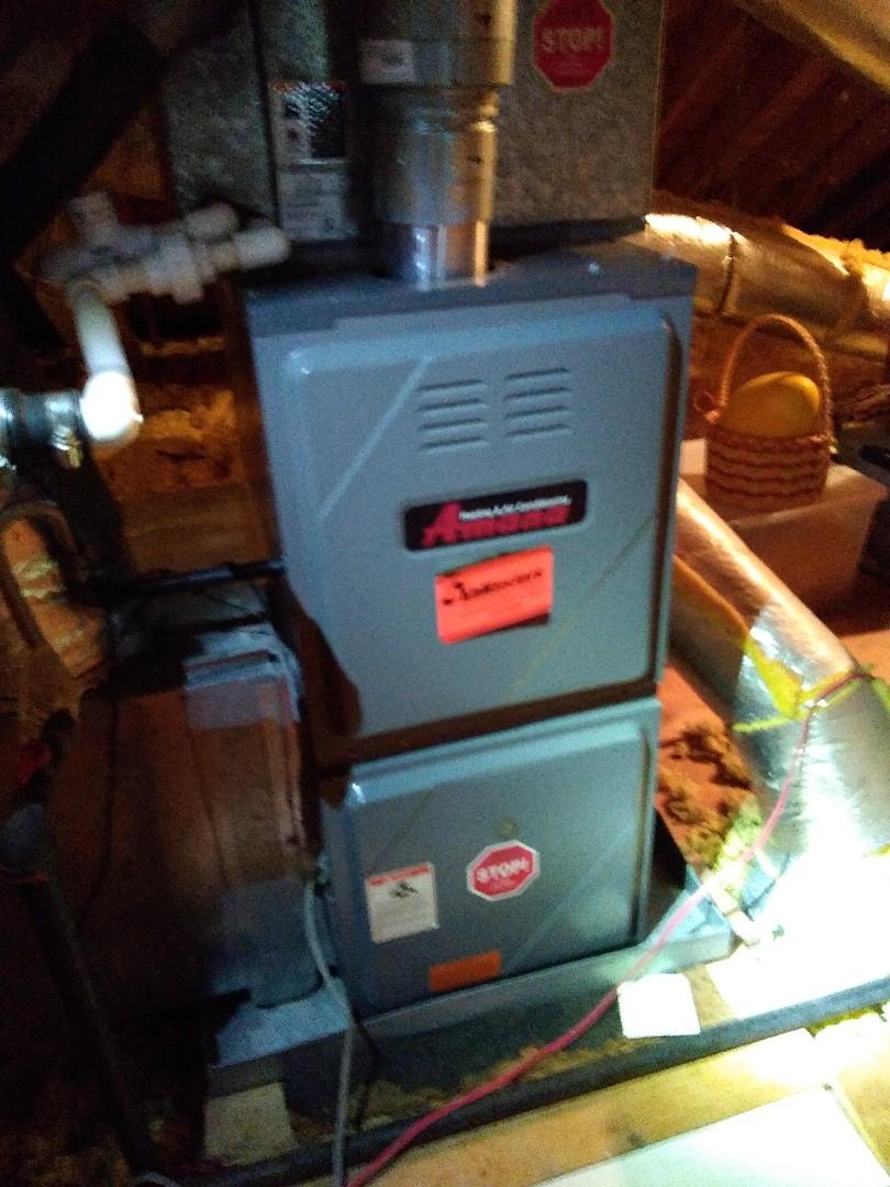 Collierville, TN - Tune up on Amana furnace