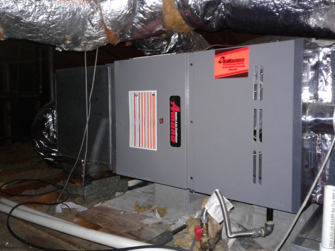 Germantown, TN - Heat tune up and safety inspection on Amana furnace.