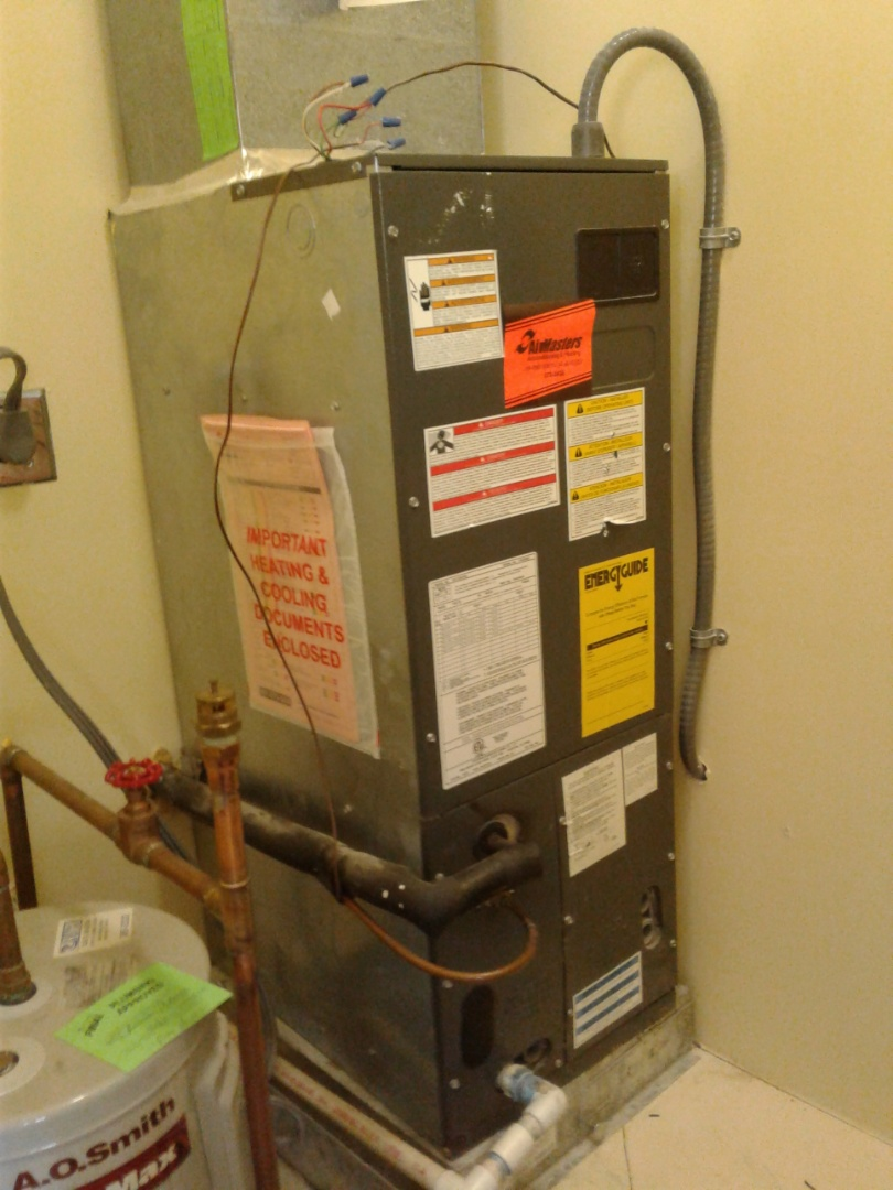 Memphis, TN - Service and repair on an Amana airhandler.