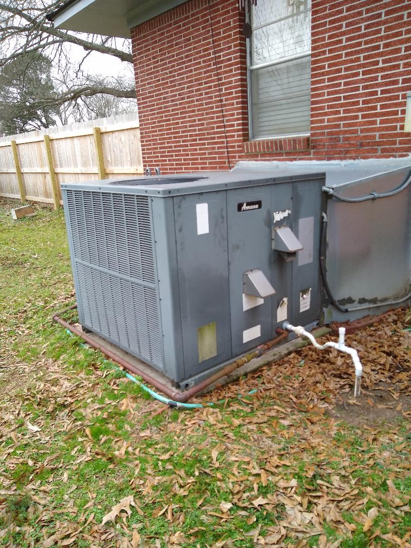 Arlington, TN - Service call on Amana package unit