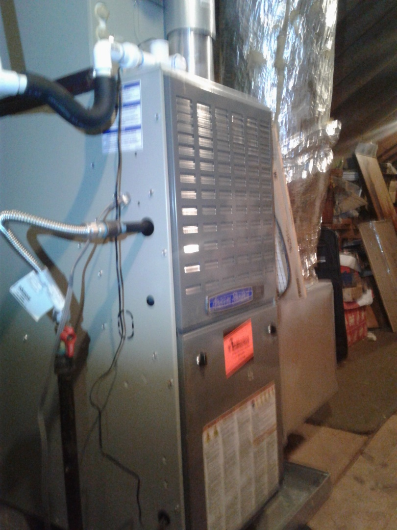 Germantown, TN - Check and service an American Standard furnace.