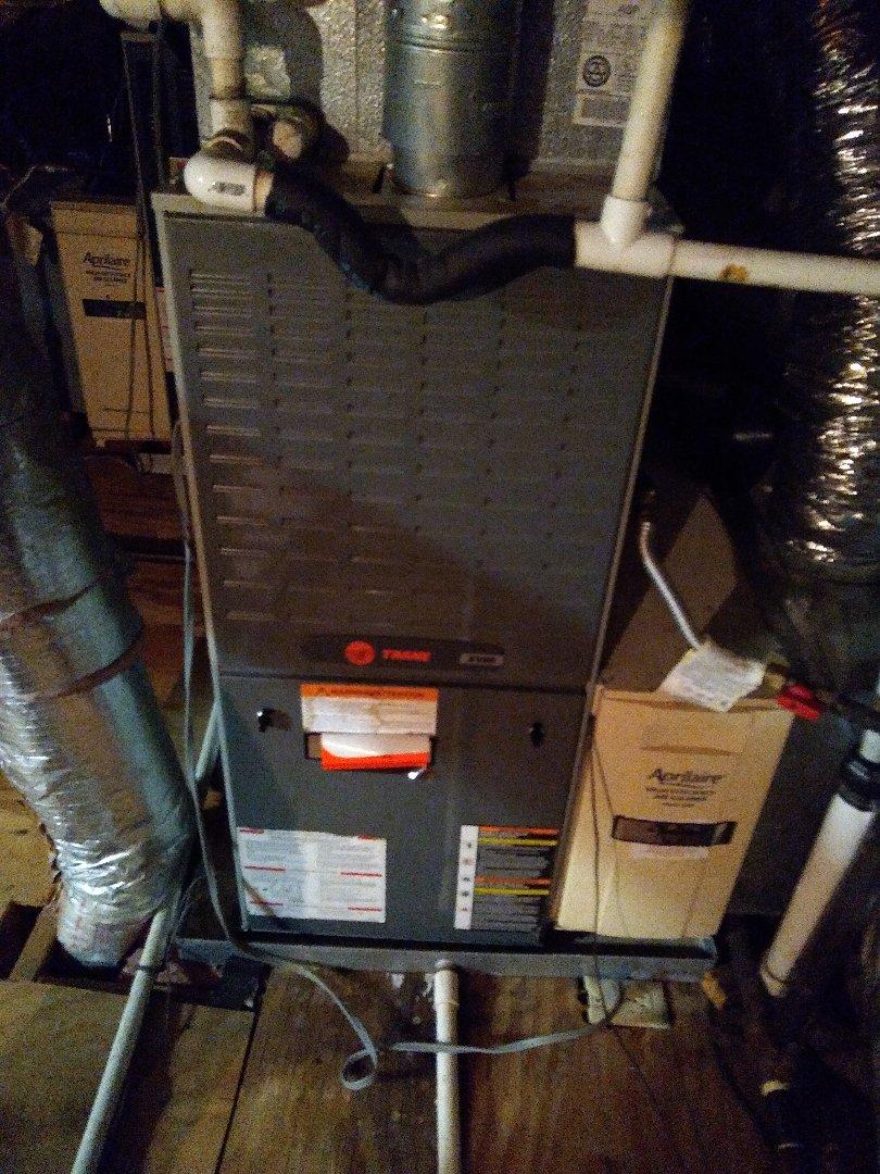 Germantown, TN - Tune up on trane furnaces