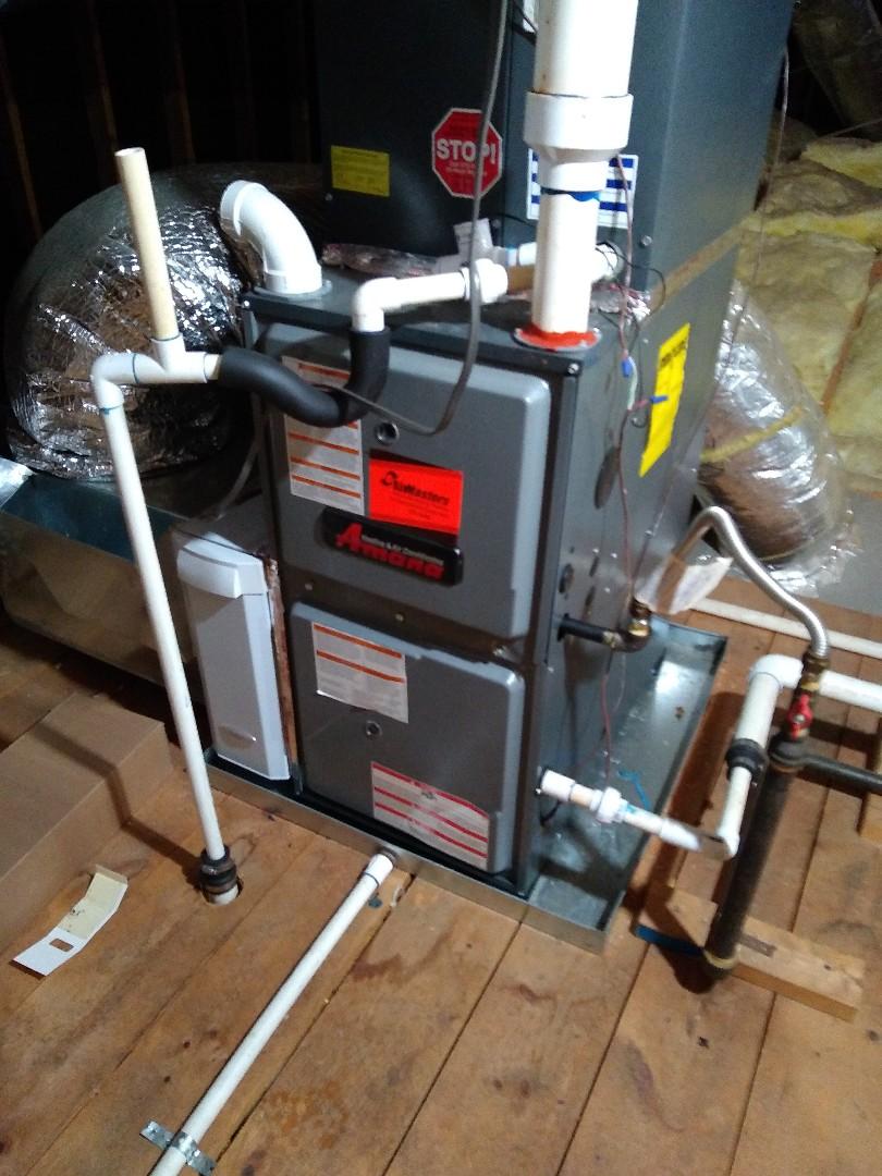 Germantown, TN - Warranty repair on Amana furnace