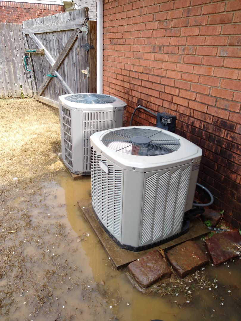 Bartlett, TN - Tune-up on American standard air conditioners