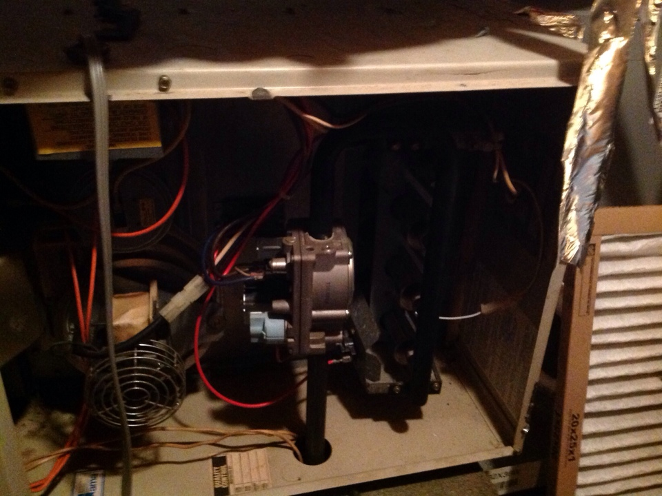 Atoka, TN - Follow up safety inspection of heat exchangers on Coleman furnace.