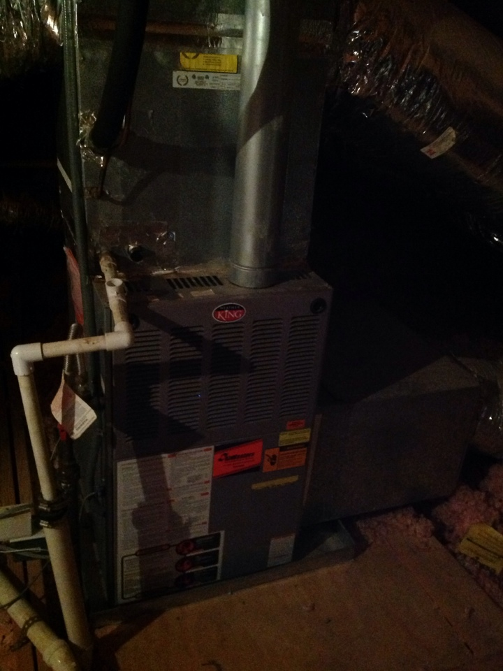 Olive Branch, MS - Heating service call and repair on Weather King furnace.