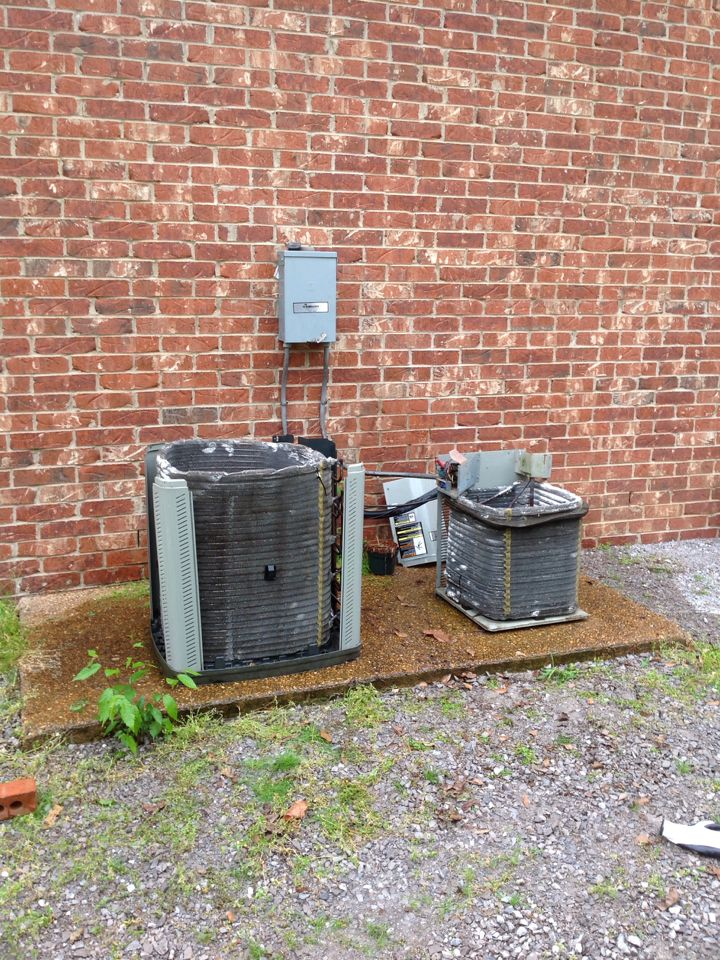 Hickory Withe, TN - AC tune up on American Standard air conditioners.