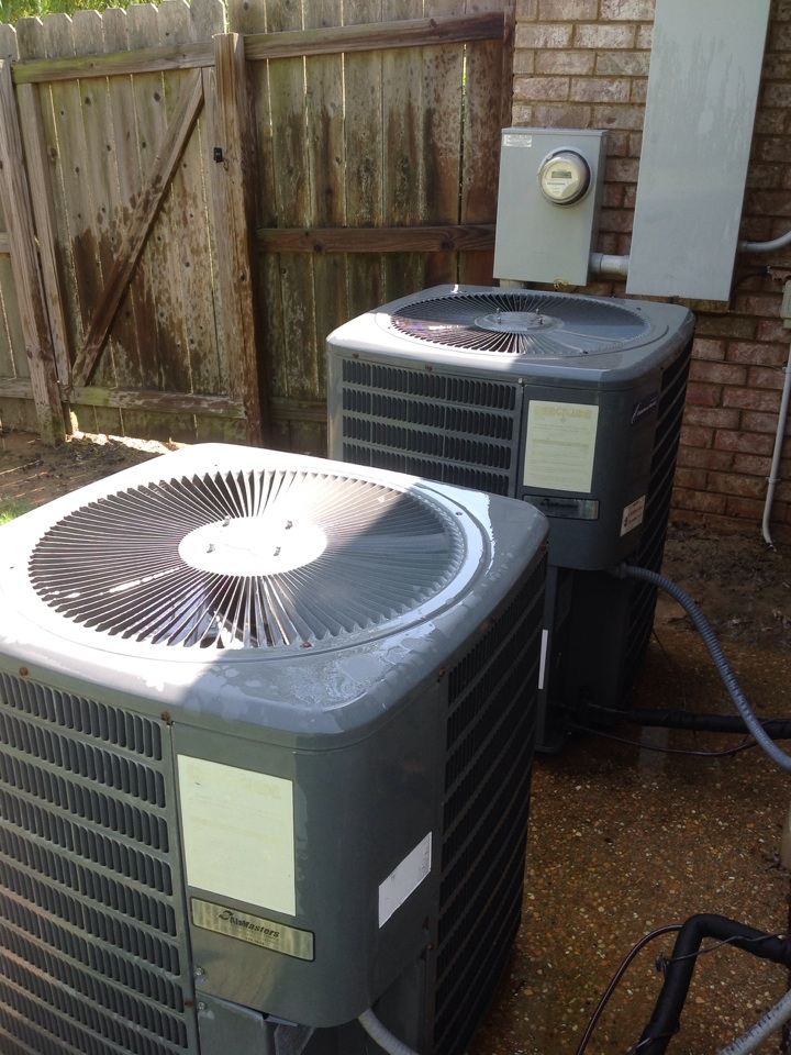 Hickory Withe, TN - AC tune up on Amana air conditioners.