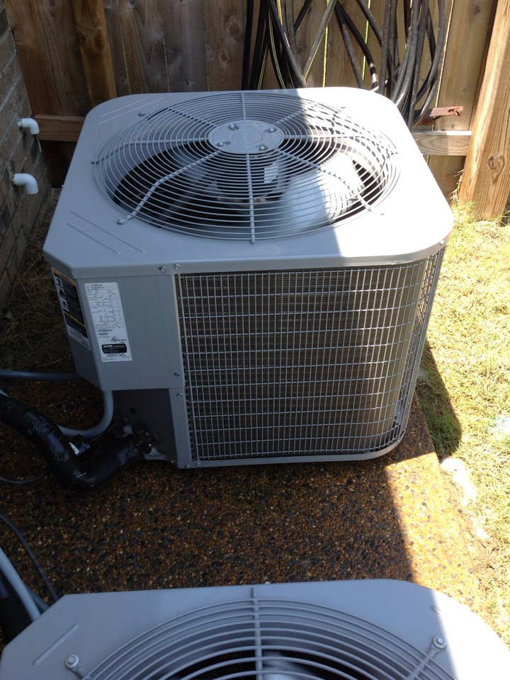 Oakland, TN - AC tune up on Carrier air conditioners.