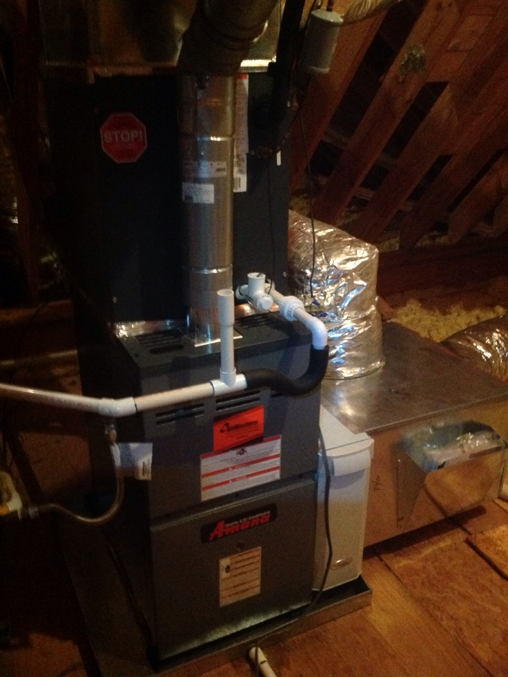 Hickory Withe, TN - Heating tune up on Amana and Ruud furnaces.