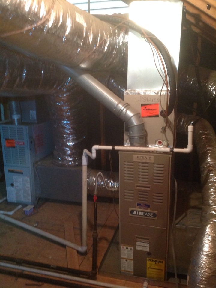 Oakland, TN - Annual heating tune up on 2 furnaces. 1 Bryant & 1 Airease.