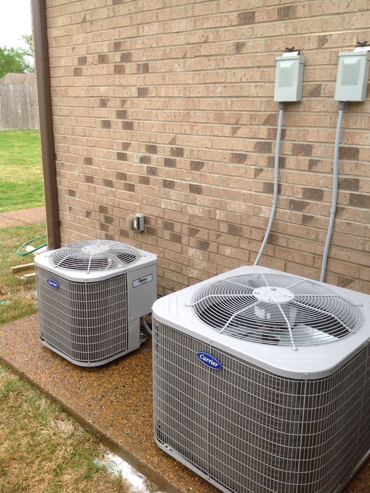 Oakland, TN - Annual AC tune up on 2 Carrier systems.