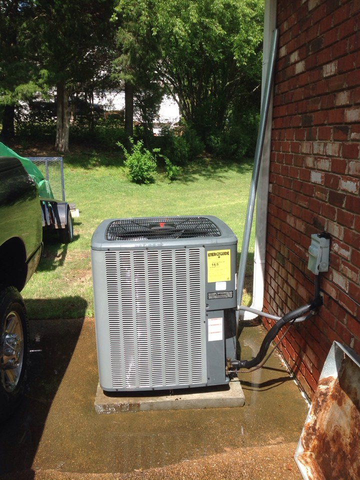 Olive Branch, MS - Annual AC tune up on Amana system.