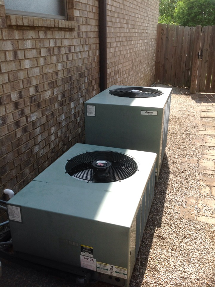 Oakland, TN - $79 tune up on 2 Ruud air conditioners.