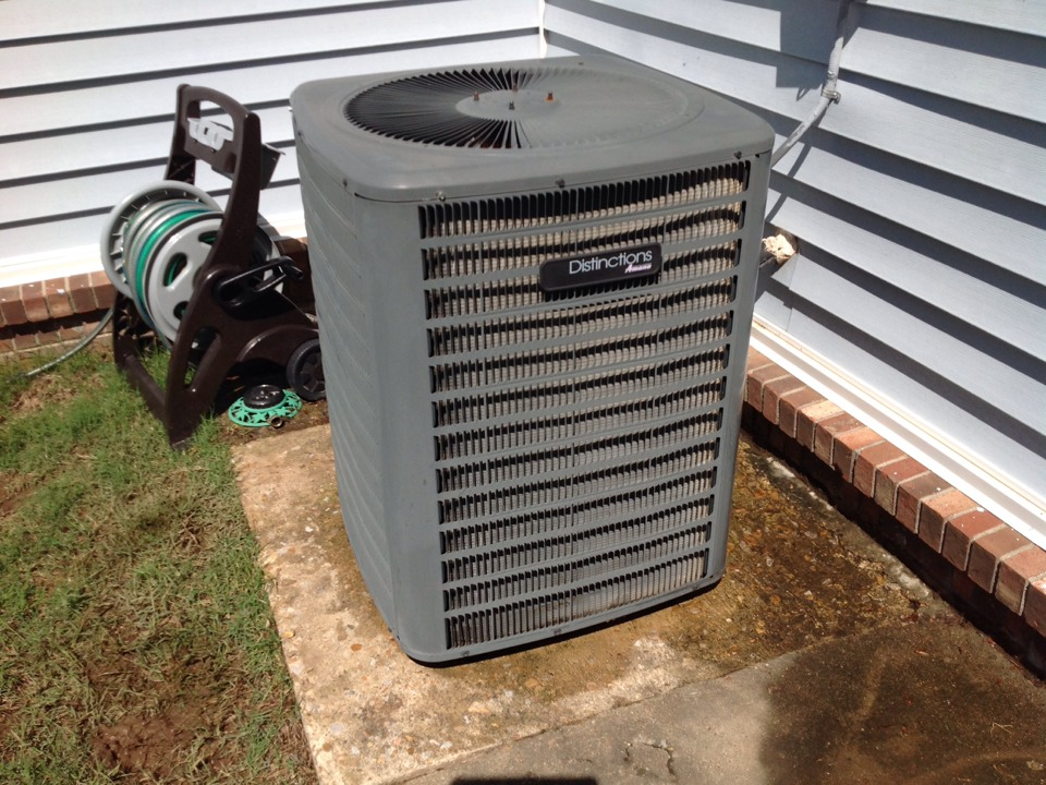 Arlington, TN - AC TUNE UP ON AMANA SYSTEM, UNDER MEMBERSHIP.