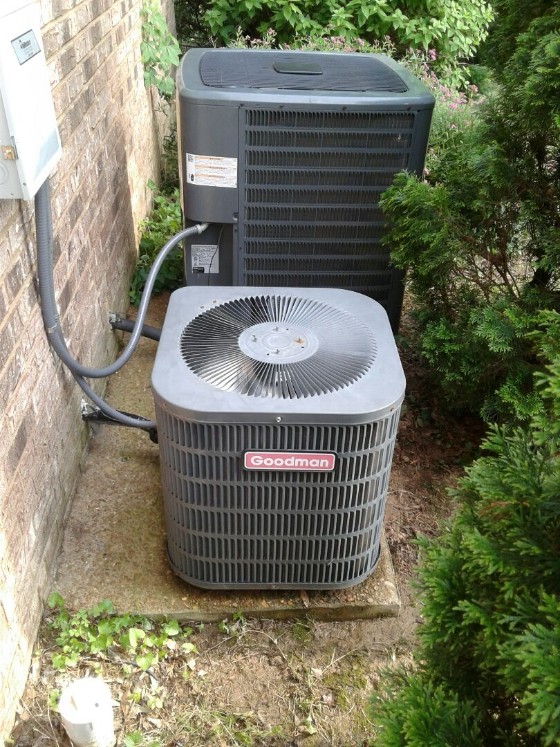 Arlington, TN - AC TUNE UP ON TWO AMANA SYSTEMS, UNDER MEMBERSHIP.