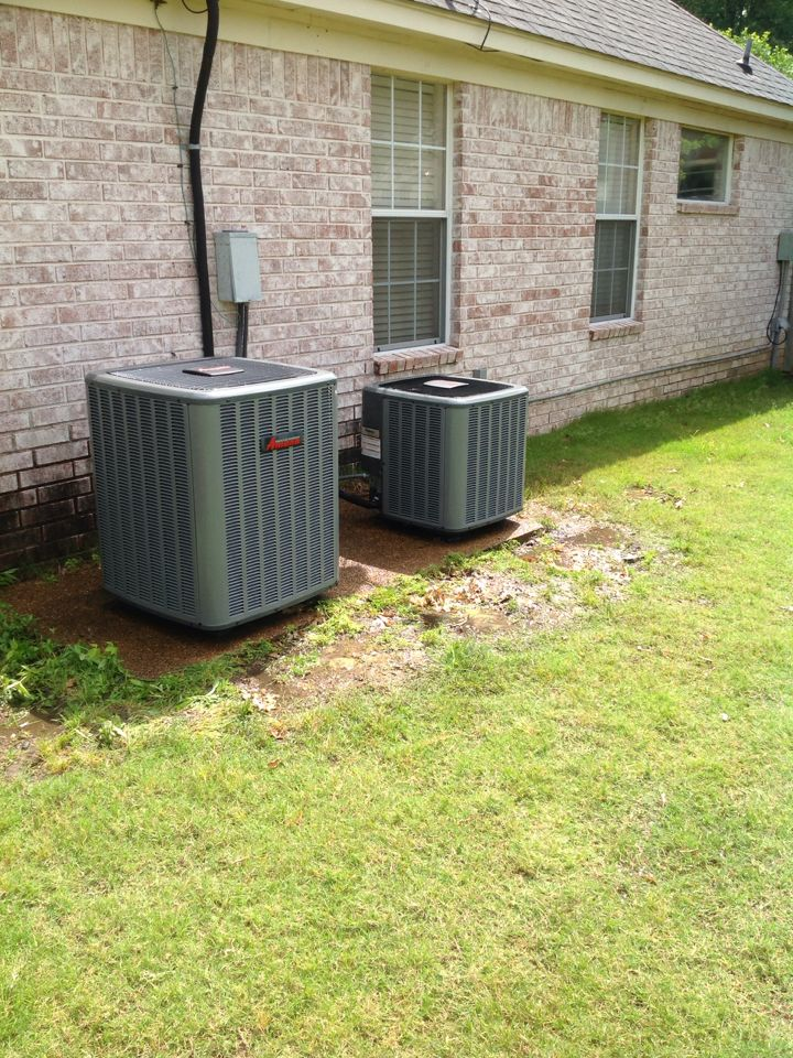 Bartlett, TN - AC tuneup on 2 systems