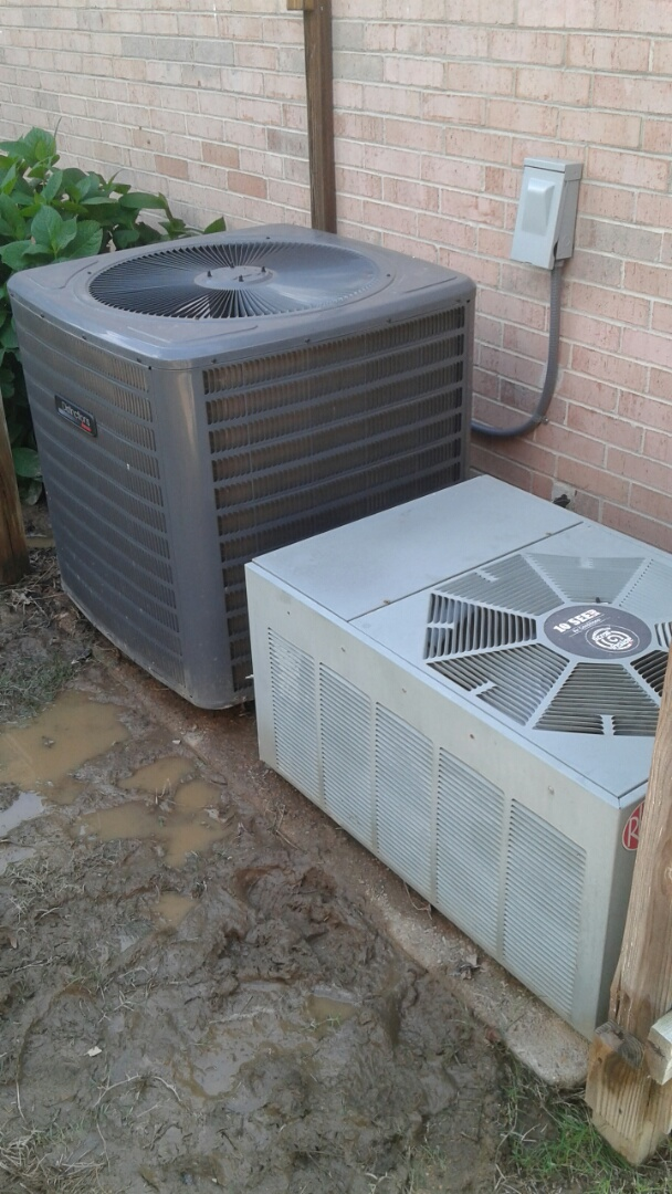 Bartlett, TN - AC TUNE UP ON AMANA SYSTEM AND TWO RHEEM SYSTEMS, UNDER MEMBERSHIP.