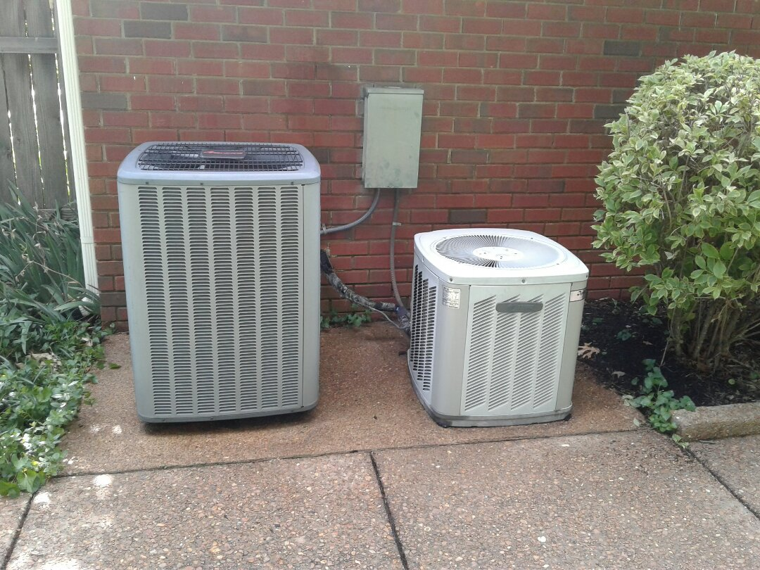 Memphis, TN - AC TUNE UP ON AMANA SYSTEM AND TRANE SYSTEM,  UNDER MEMBERSHIP.
