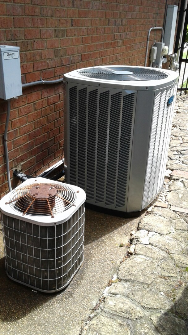 Collierville, TN - AC TUNE UP ON ON AMERICAN STANDARD AND CARRIER SYSTEMS, UNDER MEMBERSHIP.