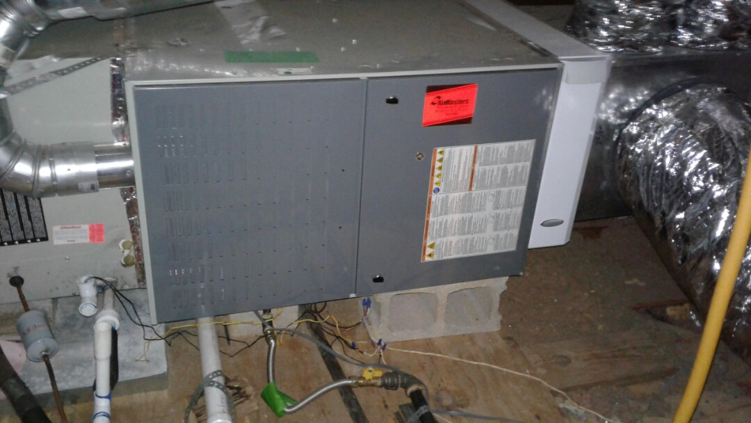 Germantown, TN - Warranty check and service on furnace.