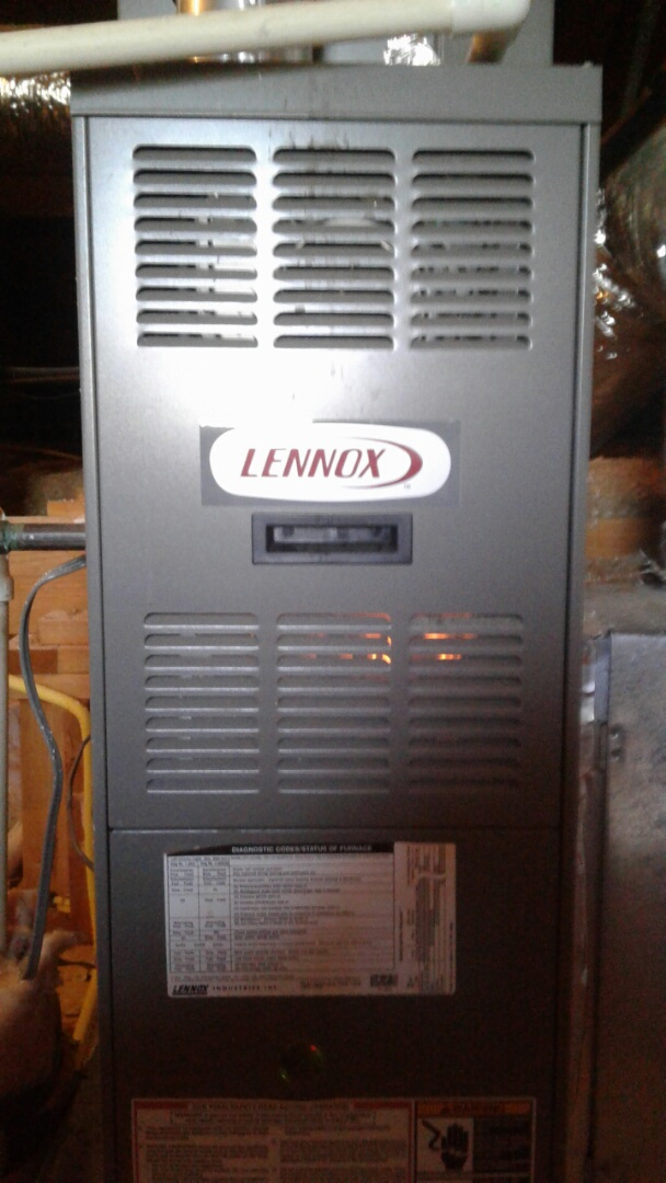 Arlington, TN - Heat tune up and safety inspection on furnace