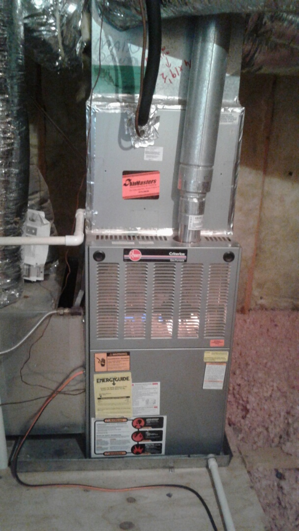 Lakeland, TN - Heat tune up and safety inspection on furnace