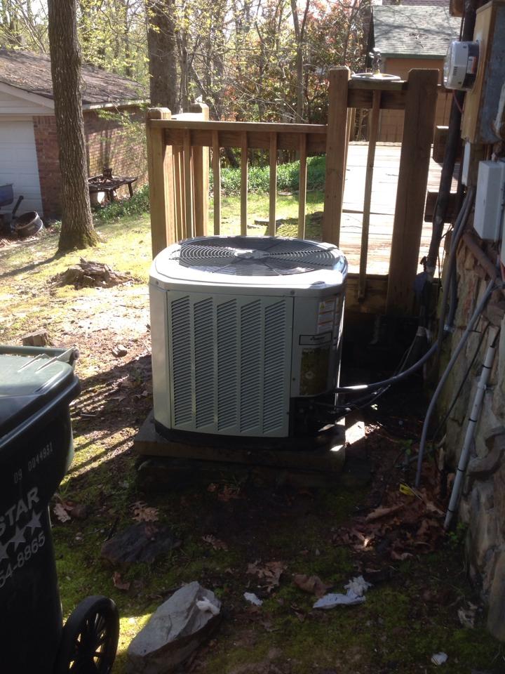 Lakeland, TN - AC tuneup on 1 system