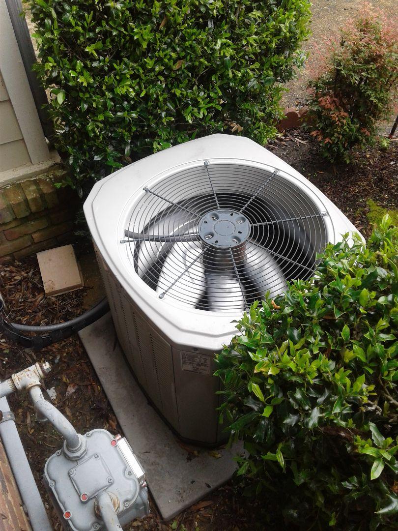 Germantown, TN - a.c. repair on American standard air conditioner