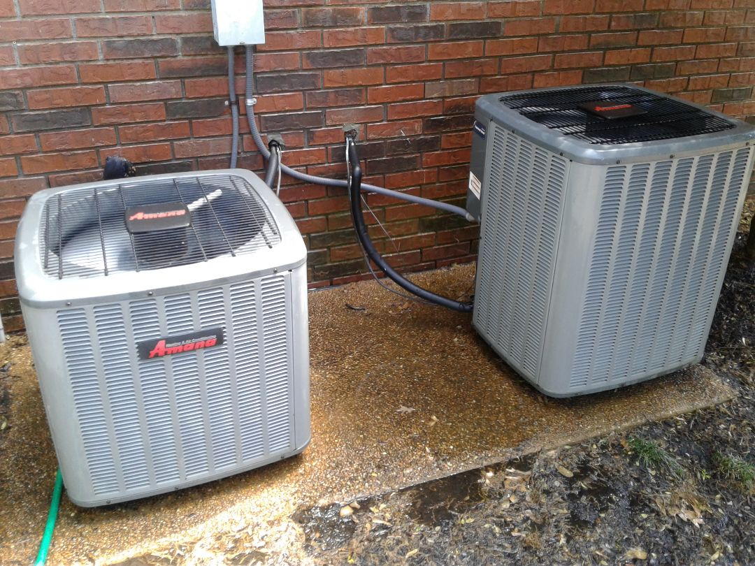 Collierville, TN - AC TUNE UP ON TWO AMANA SYSTEMS, UNDER MEMBERSHIP.