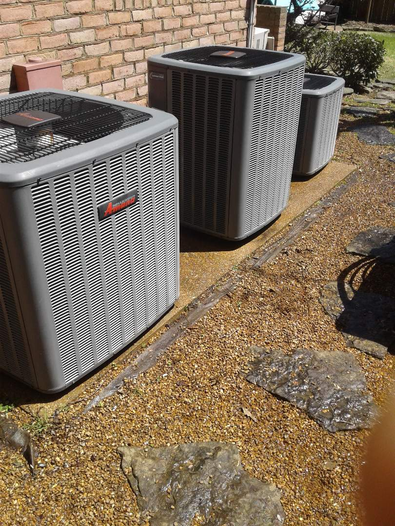 Germantown, TN - a.c. tuneup on Amana air conditioners