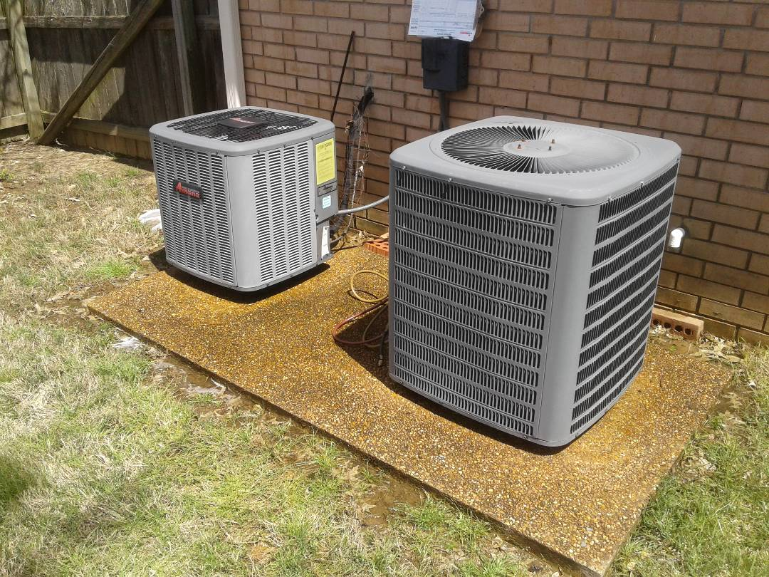 Collierville, TN - a.c. tuneup on Amana air conditioners