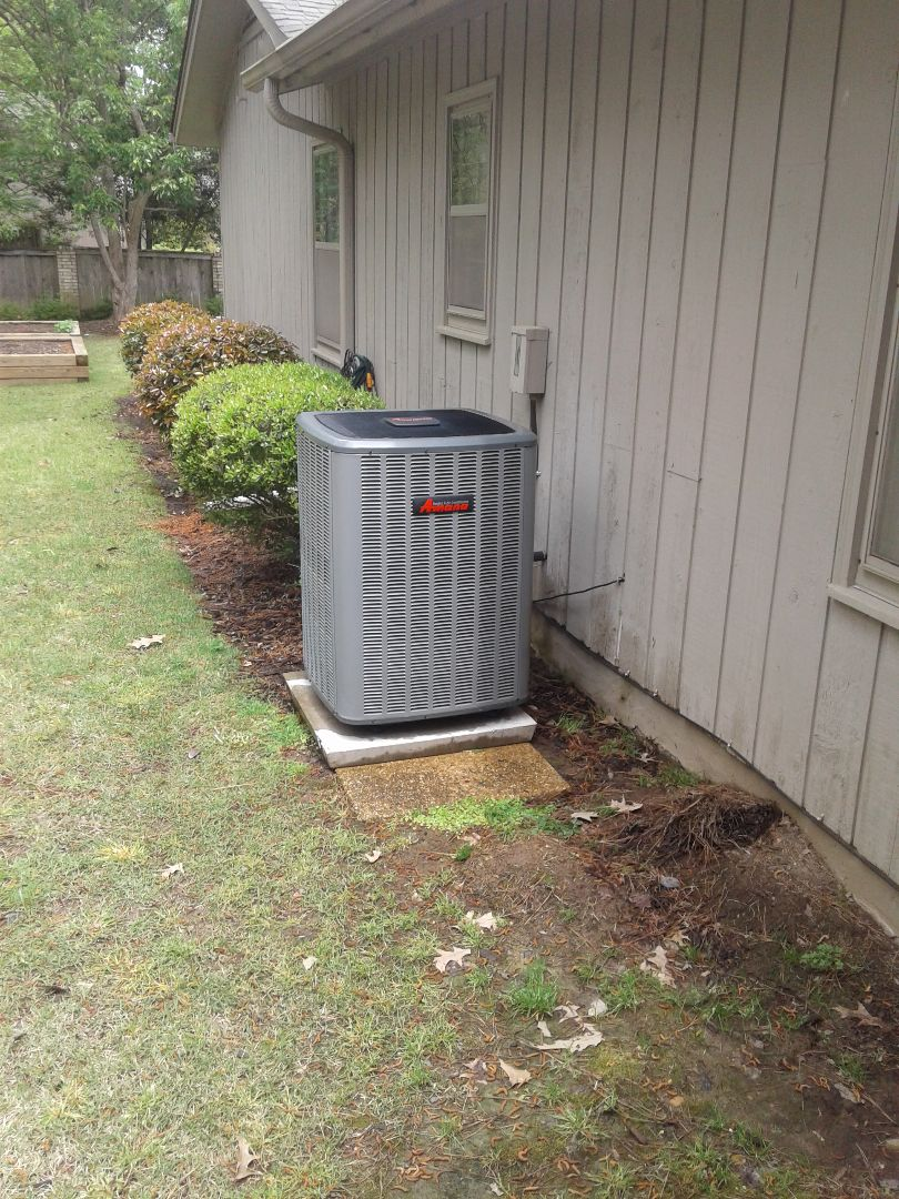 Germantown, TN - a.c. tuneup on Amana air conditioner