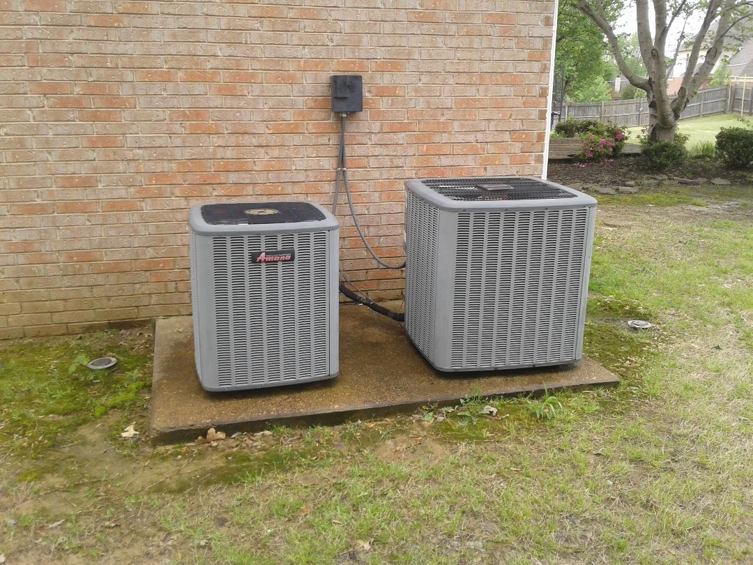 Memphis, TN - AC TUNE UP ON TWO AMANA SYSTEMS, UNDER MEMBERSHIP.