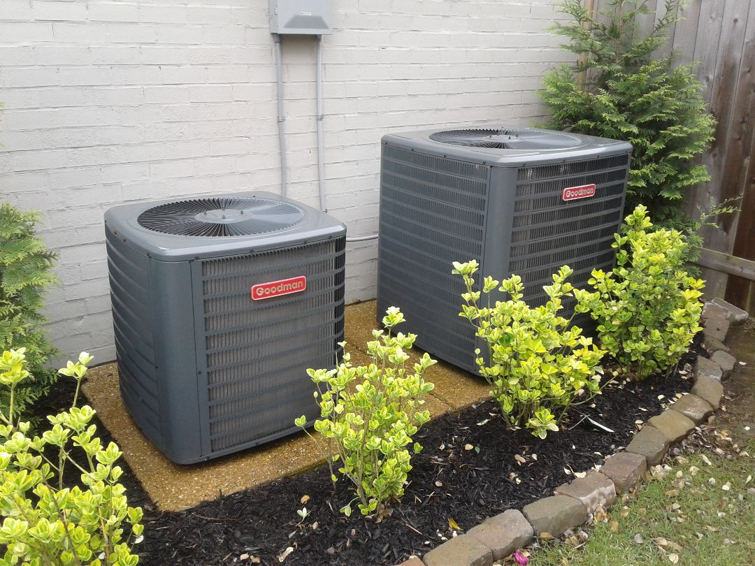 Germantown, TN - a.c. tuneup on Goodman air conditioners