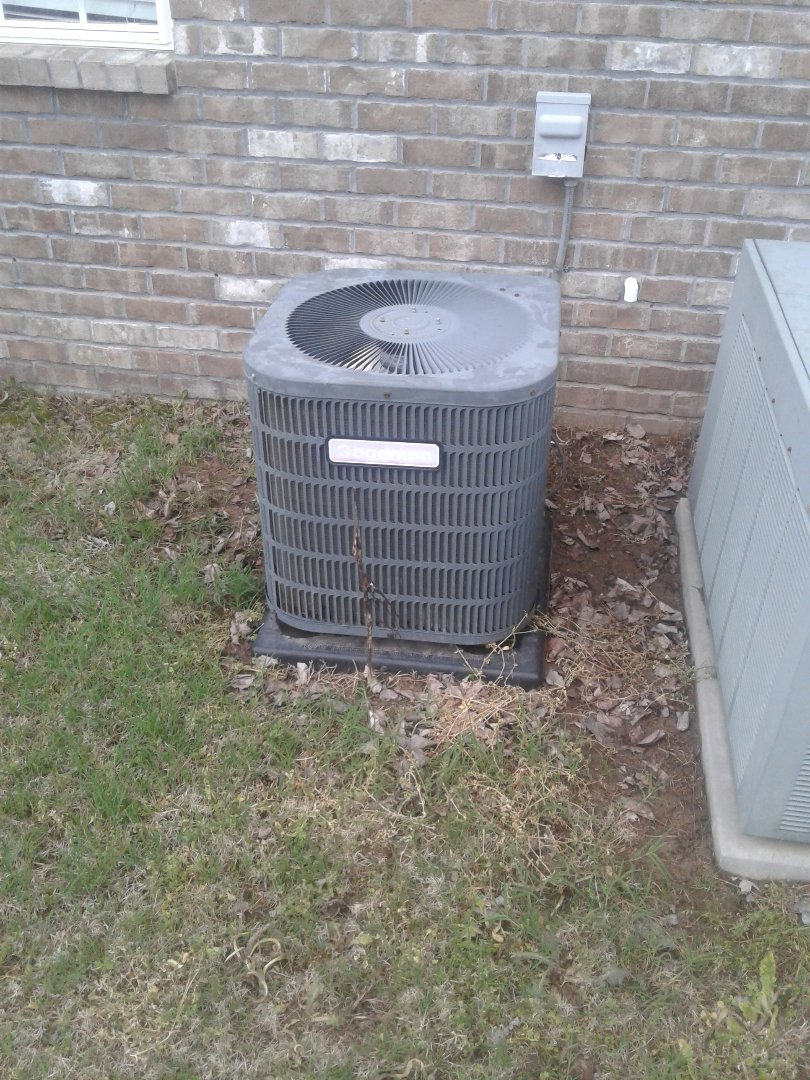Atoka, TN - a.c. repair on Goodman air conditioner