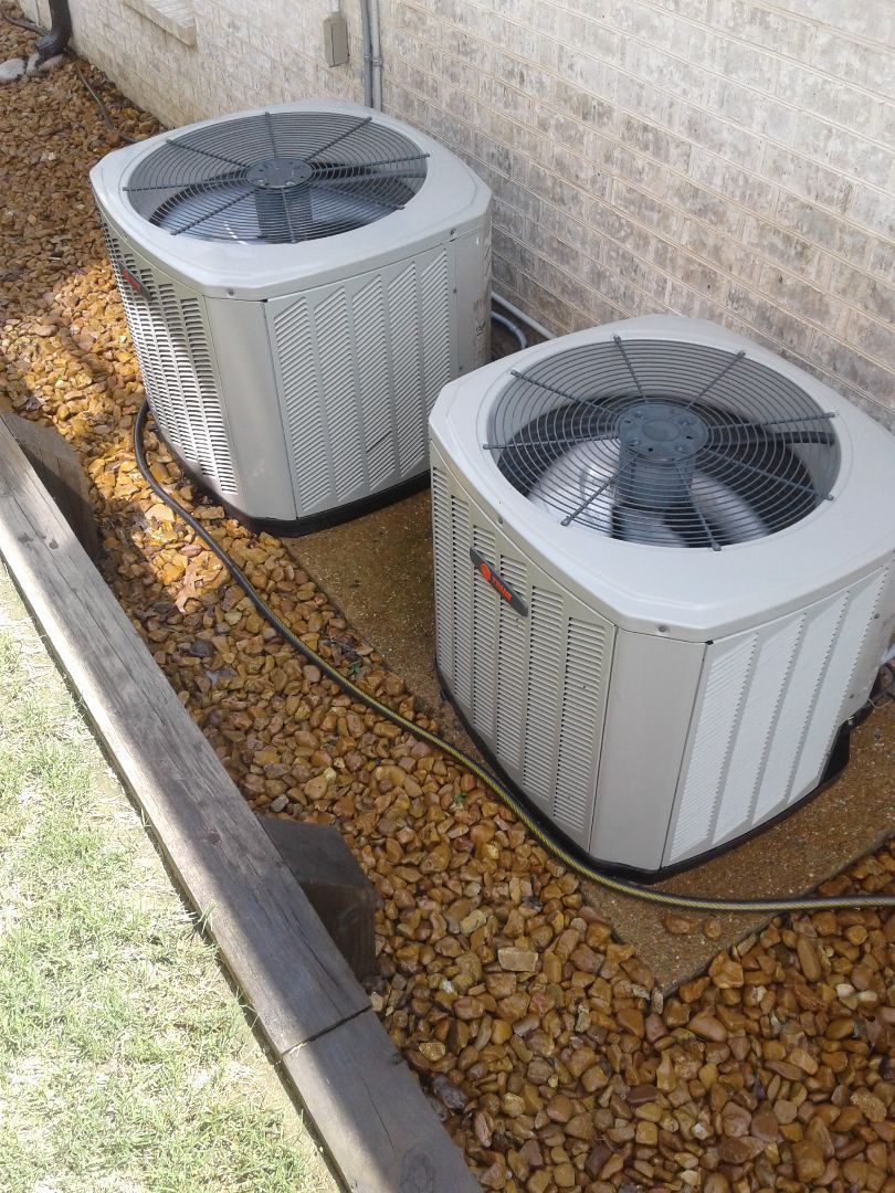 Lakeland, TN - a.c. tuneup on trane air conditioners