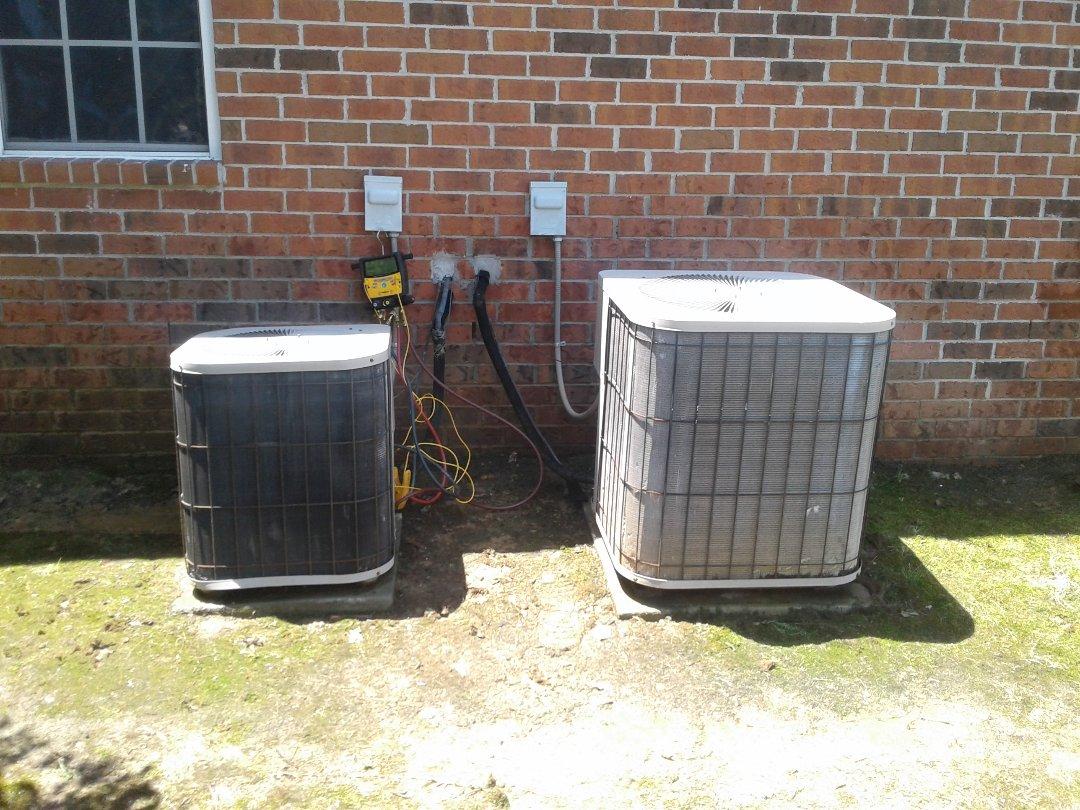 Lakeland, TN - AC TUNE UP ON TWO GOODMAN SYSTEMS, UNDER MEMBERSHIP.