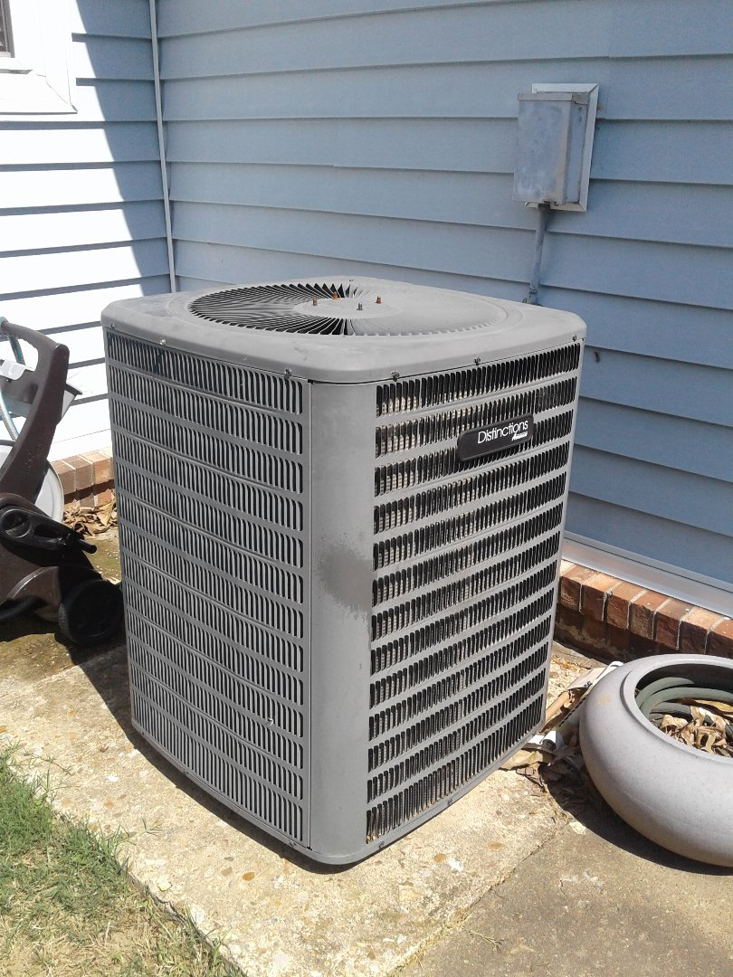 Atoka, TN - Service call and Repair on Amana air conditioner