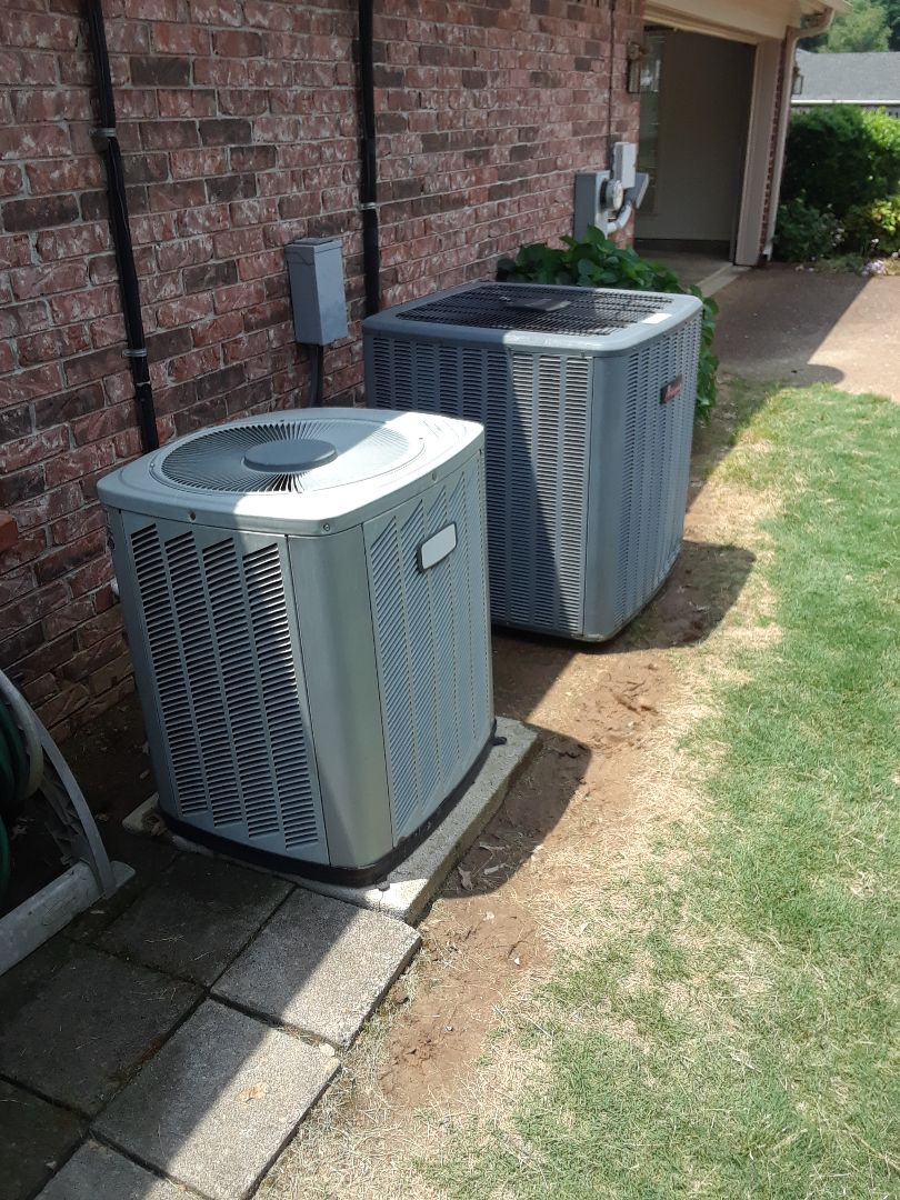 Lakeland, TN - AC TUNE UP ON AMANA AND AMERICAN STANDARD SYSTEMS,UNDER MEMBERSHIP.