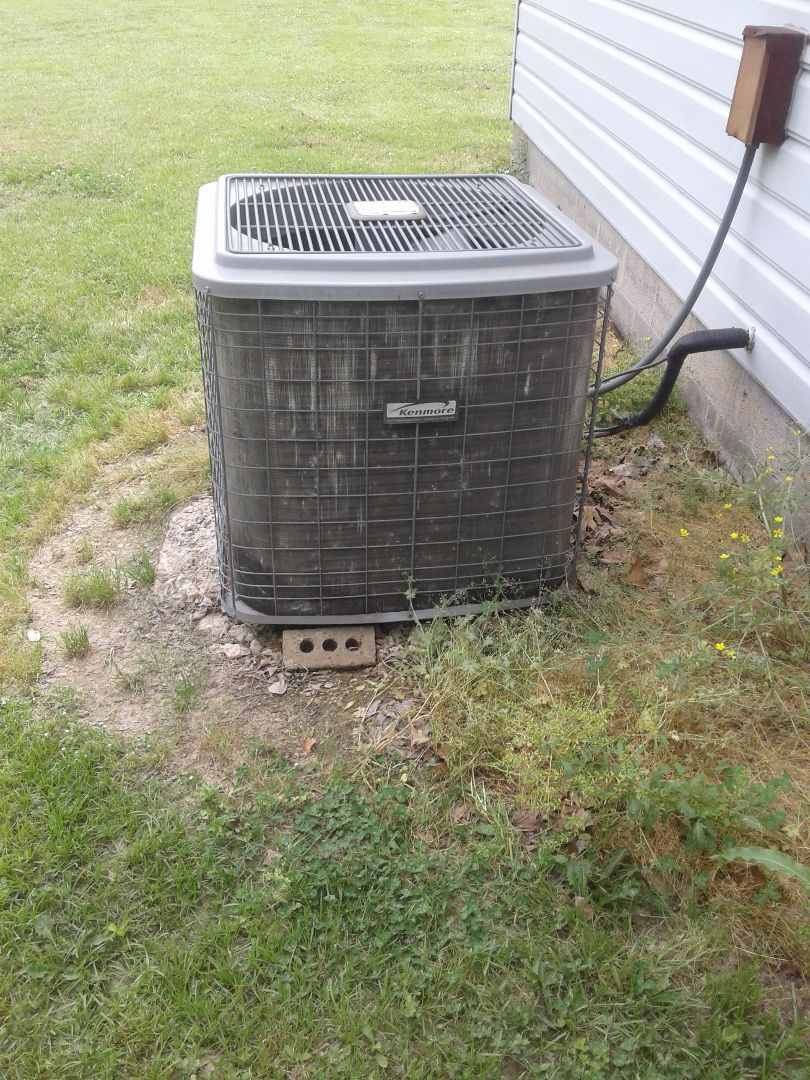 Atoka, TN - a.c. repair on Kenmore air conditioner