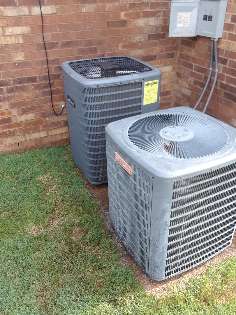 Lakeland, TN - AC TUNE UP ON ONE AMANA SYSTEM AND TWO GOODMAN SYSTEMS, UNDER MEMBERSHIP.