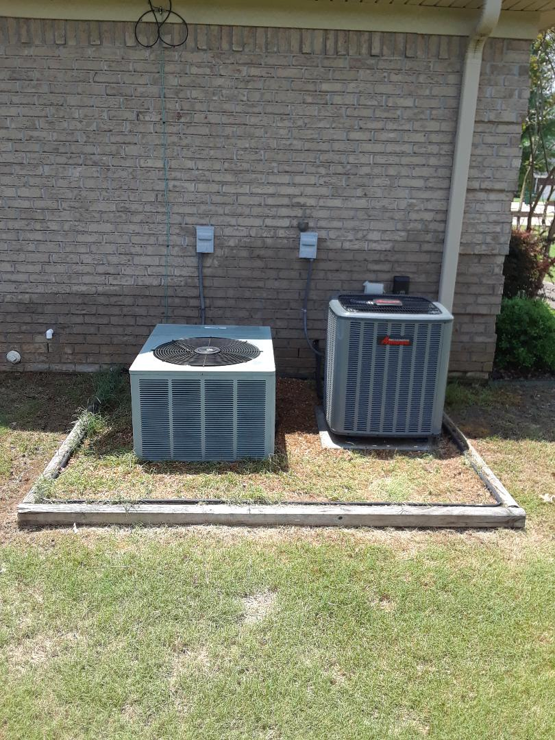 Atoka, TN - AC TUNE UP ON AMANA SYSTEM AND RUUD SYSTEM, UNDER MEMBERSHIP.