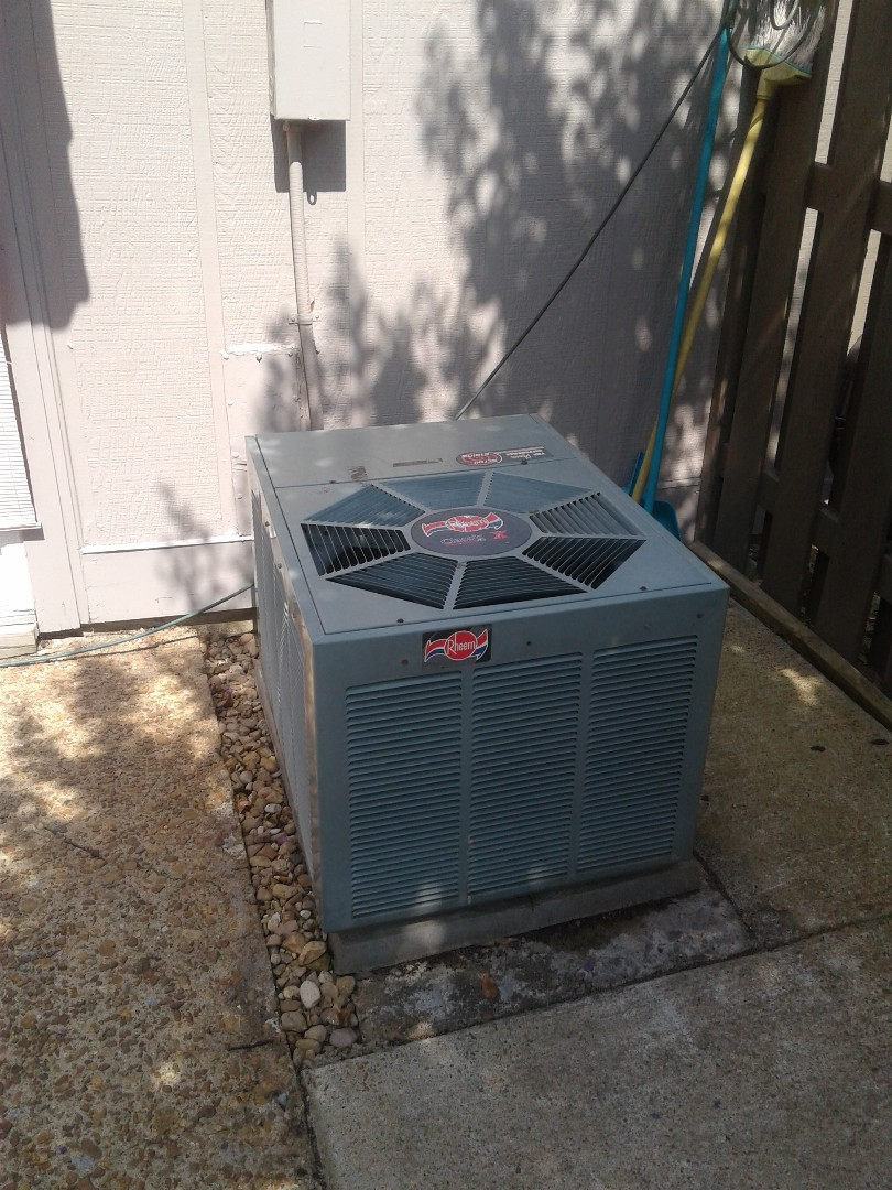 Germantown, TN - Service call and Repair on Rheem AC unit